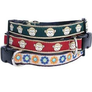 The Good Dog Eco-Friendly Monkey Dog Collars S/M